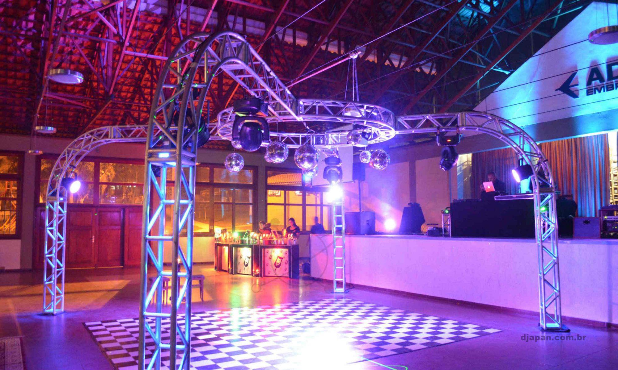 DJapan Som, Luz e Eventos